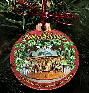 Heritage Carousel 2014 Ornament
