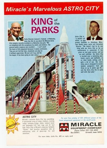 Rocket Slide advertisement