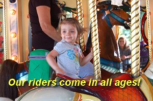 Our Riders come in all ages!